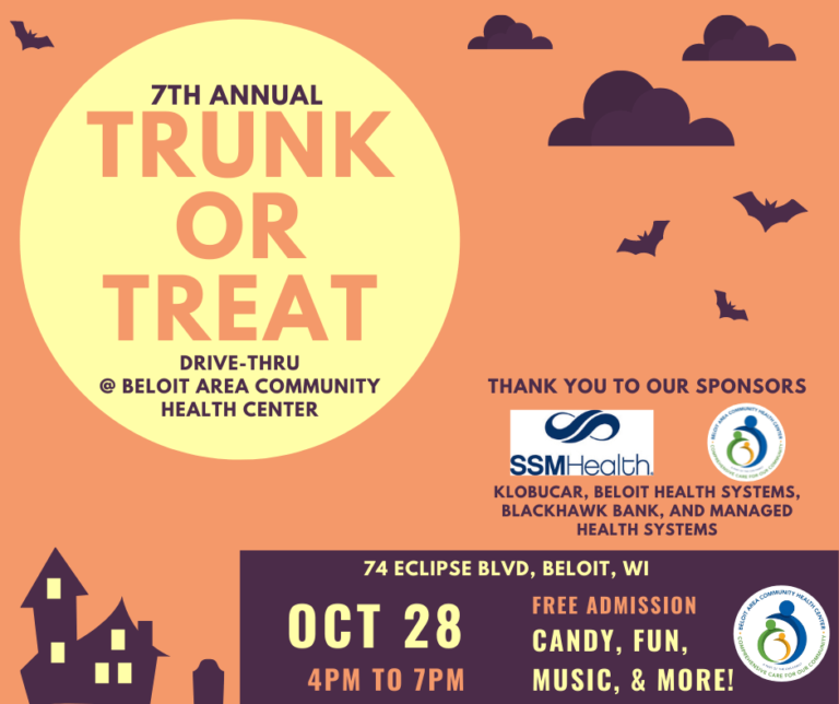 2021 Trunk or Treat banner